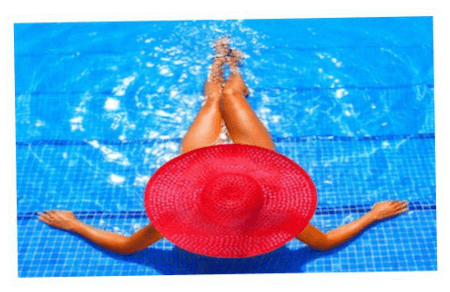 Woman in Pool | AMS Pools | Aquatic Management Specialists