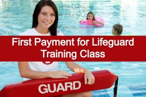 First Payment for Lifeguard Training Class | AMS GA Pools